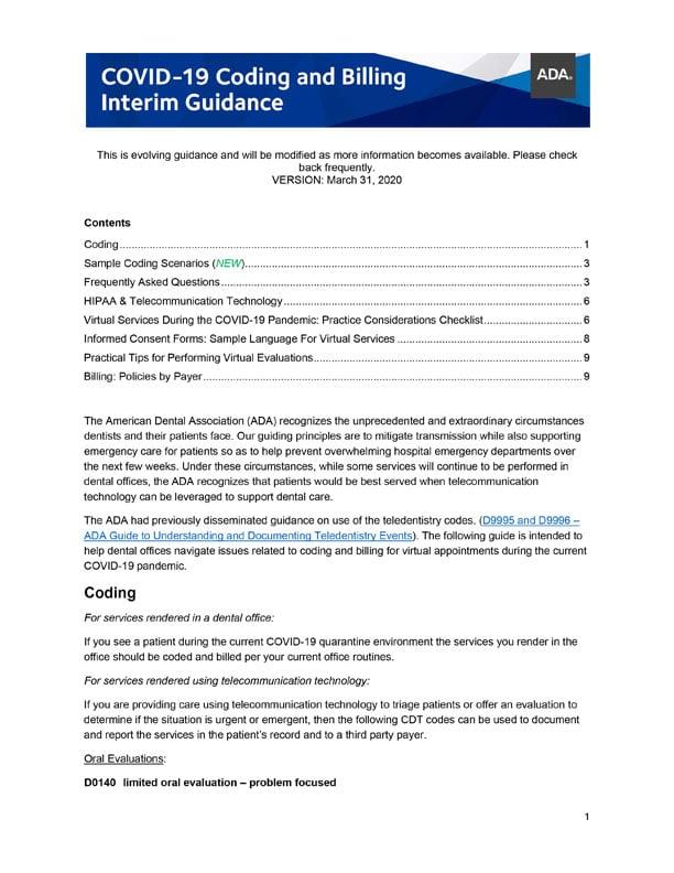 ADA-COVID-Guidance-Cover