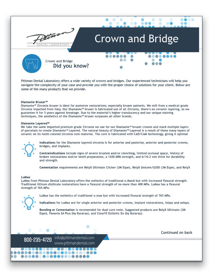 Crown-and-Bridge-Fact-Sheet-Cover