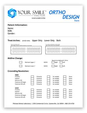 YSF-Ortho-Design-Form-Image